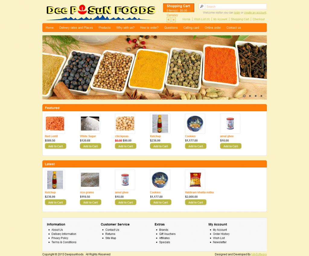 Deepsun Foods